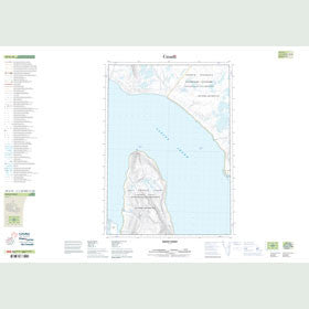 Canadian Topo Map - Depot Point - Map 049G10