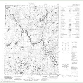 Canadian Topo Map - Map 056O04