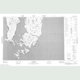 Canadian Topo Map - Cape Hardy - Map 057C05