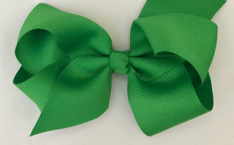 The Trixie Bow -  Emerald