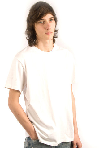 Parasuco White Embroidered Chimera Short Sleeve 9-MICELI Crew Neck Tee