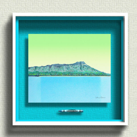 DIAMOND HEAD Crayon Collectible