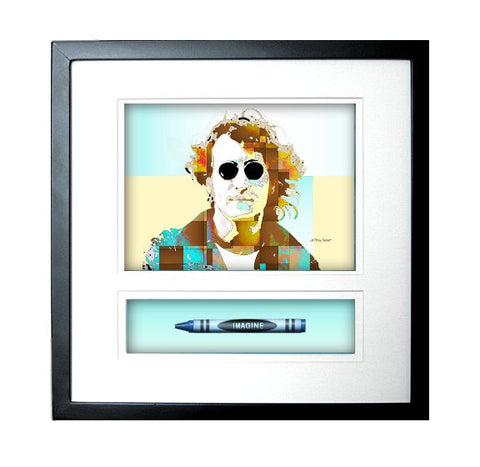 "John Lennon ""IMAGINE"" Crayon Collectible Gift Line"