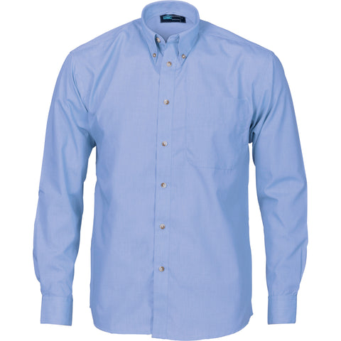 Picture of Chambray Long Sleeve Business Shirt