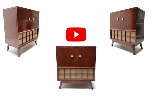 The Vintedge Co™ Video - RCA VICTOR 40s 50s Vintage Record Changer HiFi Console