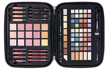 Load image into Gallery viewer, Pink Sparkle Makeup Gift Set Zippered Travel Case By ULTA 93 Piece