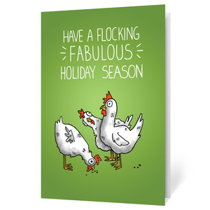 Holiday Flock (Illustrated)