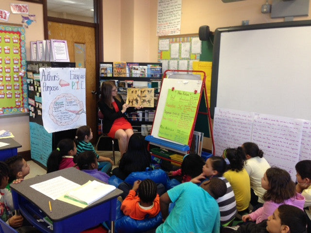Brittani builds community bridges by sharing books and pages