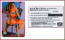 Load image into Gallery viewer, The Art of Curves - Todd Borenstein - 4 Card Phone Card Set - Matching Numbers