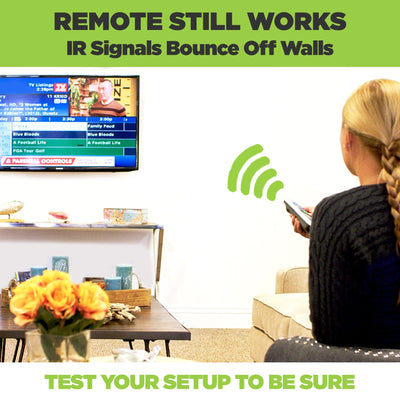 Small Cable Box Wall Mount Small Hideit Mount For Tv Set