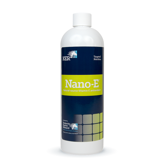 Nano-E vitamin E antioxidant for horses