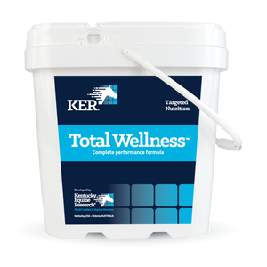 Total Wellness (4 kg, 66 servings), combination supplement for performance horses for whom support of hoof, coat, digestive, muscle, and joint health is vital.