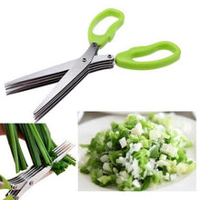 Load image into Gallery viewer, Multilayers Shredding Scissor 5 Layers Kitchen Scissors