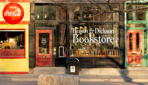 Storefront Photo of Brown and Dickson Bookstore in London, Ontario