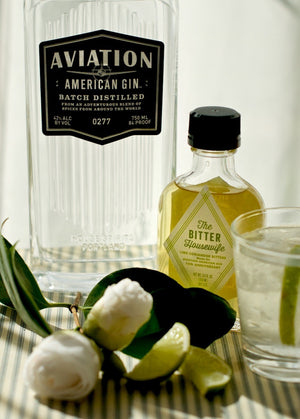 The Bitter Housewife Lime Coriander Bitters Aviation Gin
