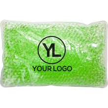 Load image into Gallery viewer, Promotional Custom Logo Deluxe Aqua Pearls Hot Cold Pack