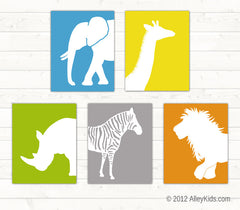 Jungle Nursery Art Animal Prints