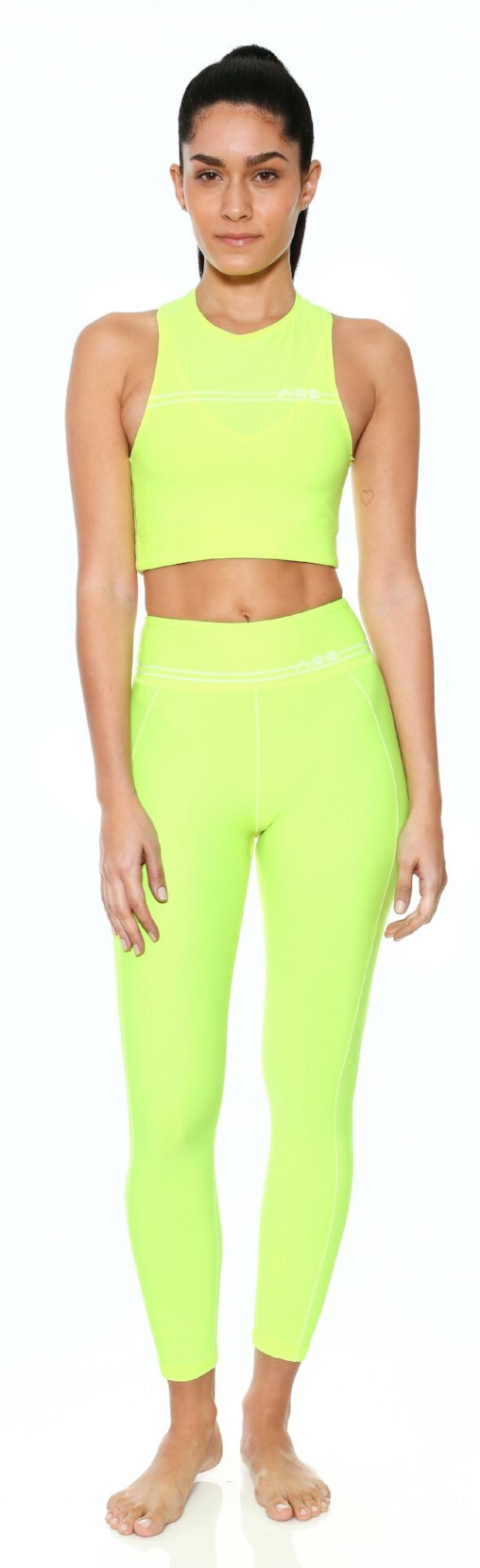 neon bottom legging adam selman workout work out clothes