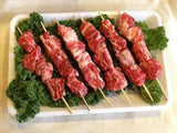 30 Days Aged Beef Shish Kebab Skewers