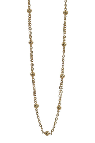 dots choker - gold