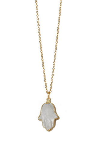 mother of pearl hamsa