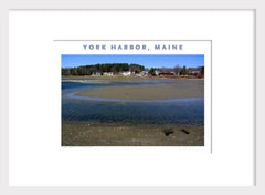 York Harbor, Maine, Place Photo Poster Wall Art #428