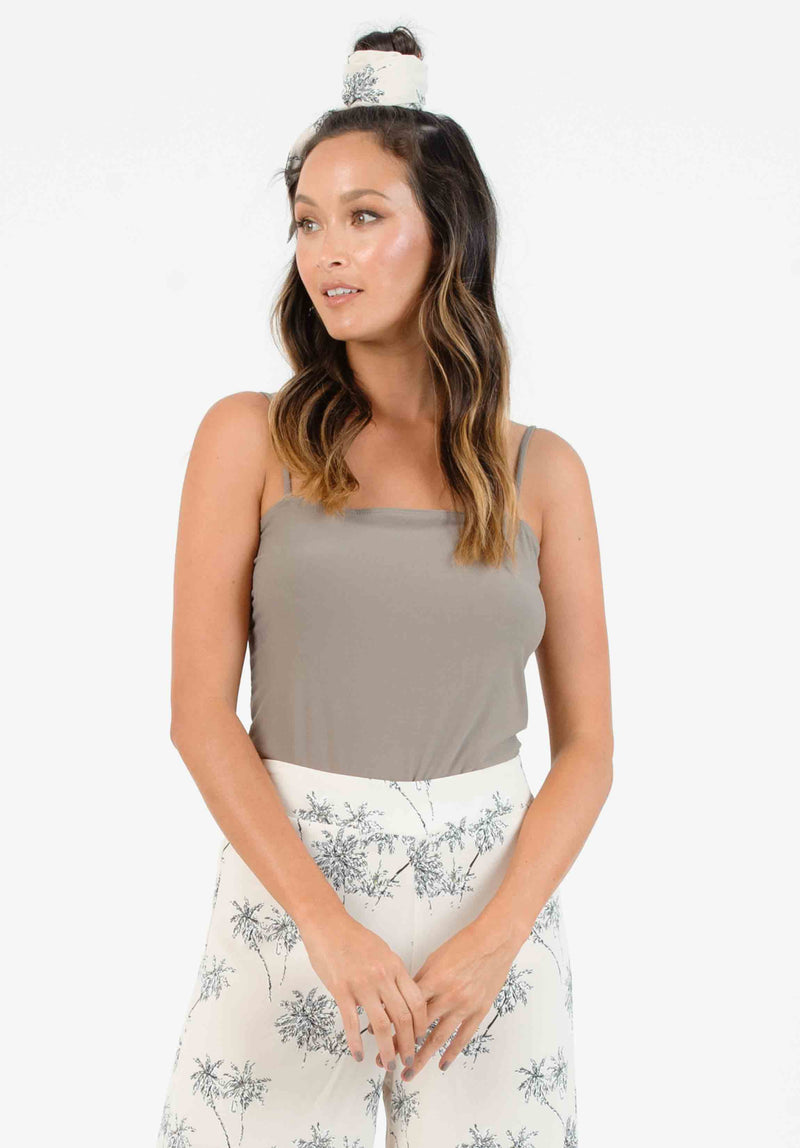 REILEY SQUARE NECK BODYSUIT | OLIVE