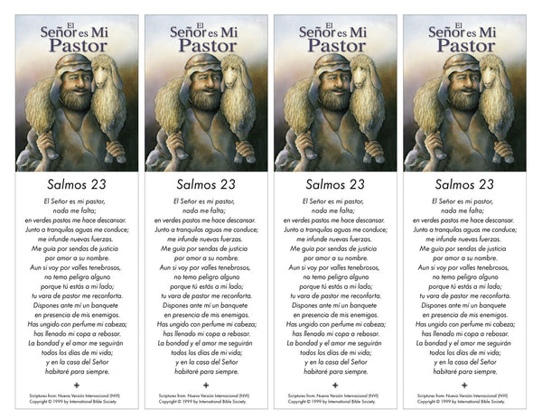 Psalm 23 Printable - Book Marks - PDF