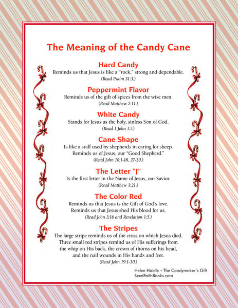 Meaning of the Candy Cane - PDF