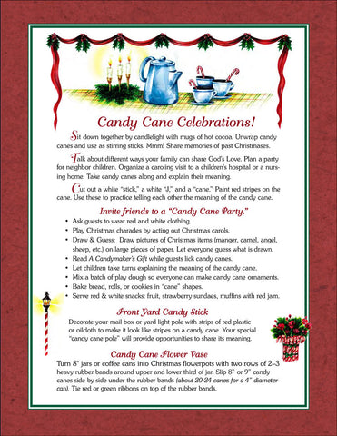 Candy Cane Celebration Ideas