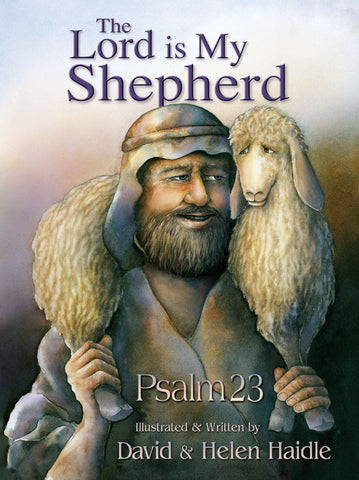 Psalm 23 - The Lord is my Shepherd PICTURE Bk (NO activity  book)