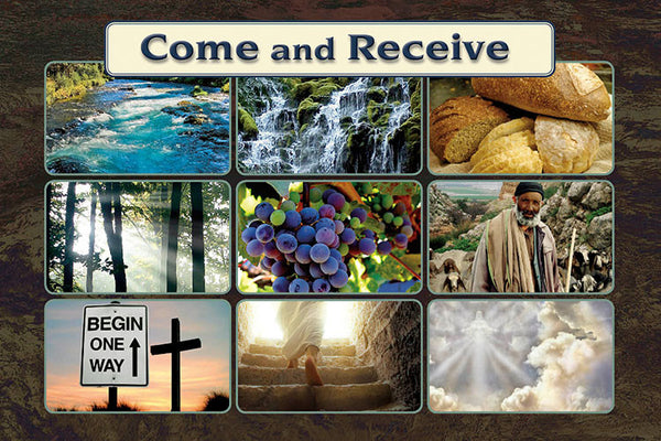 Come and Receive - WHO JESUS IS