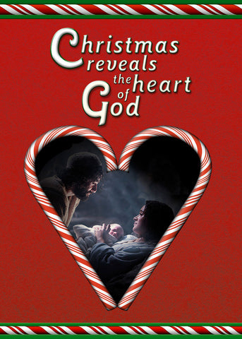 2018 Christmas Card - Christmas Reveals Gods Heart