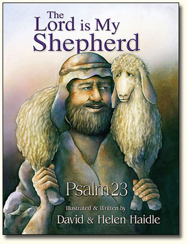 Psalm 23 - The Lord is my Shepherd picture book - PDF only