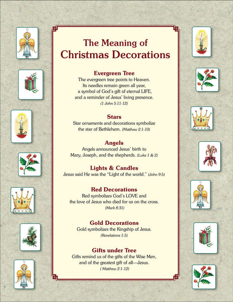 The Meaning of Christmas Tree Ornaments PDF