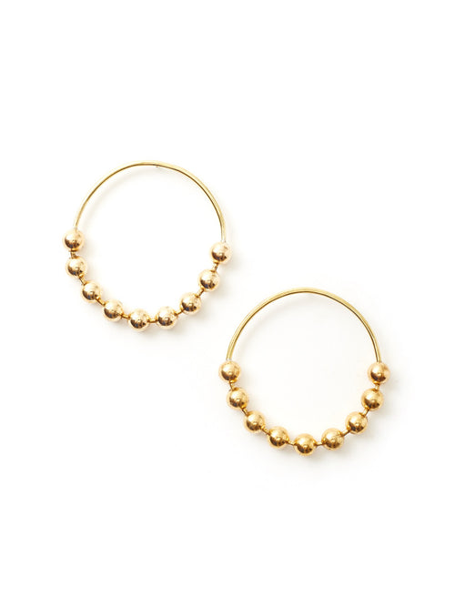 Meridian Hoop Earrings