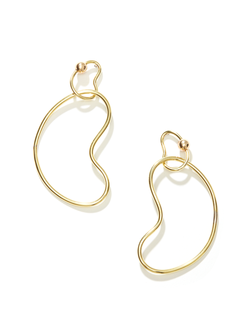 Linkage Hoop Earrings