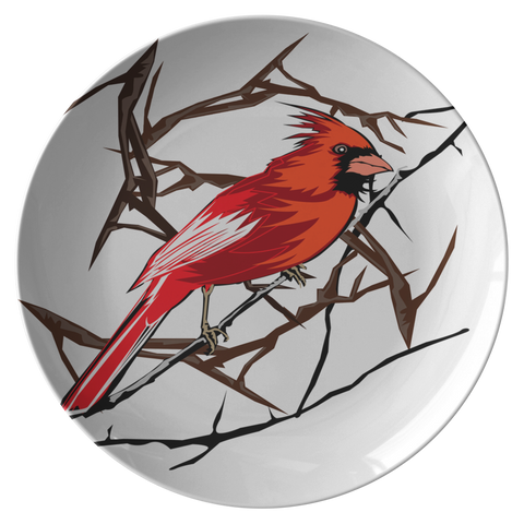 Northern Cardinal Bird Plate