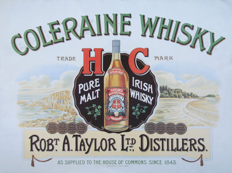 Coleraine Whisky Poster