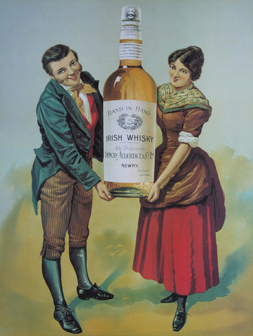 Hand in Hand Whiskey Poster
