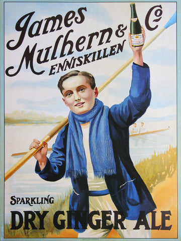 Mulhern Dry Ginger Ale Poster