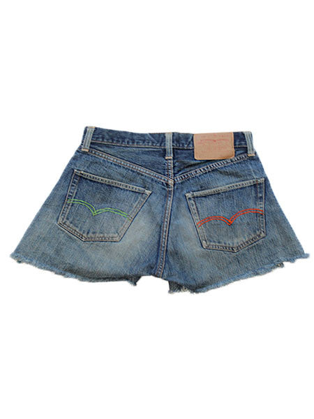 Levis 1960's Big E Hand Embroidered Denim Shorts ///SOLD///