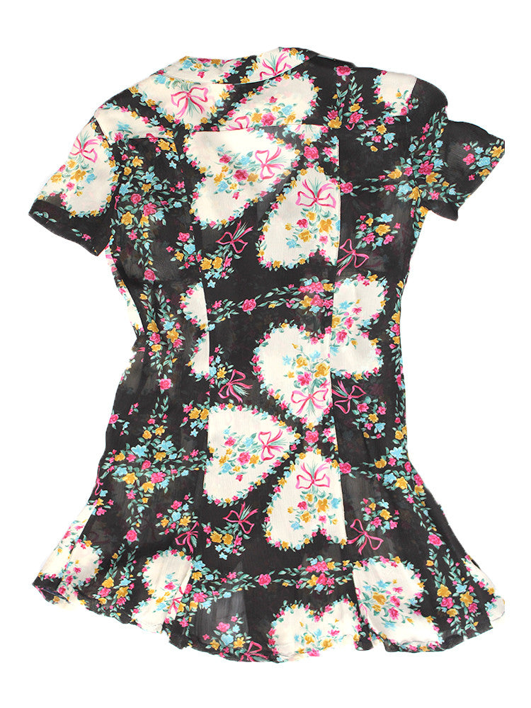 Vintage 90's Moschino Semi Sheer Baby Doll Dress