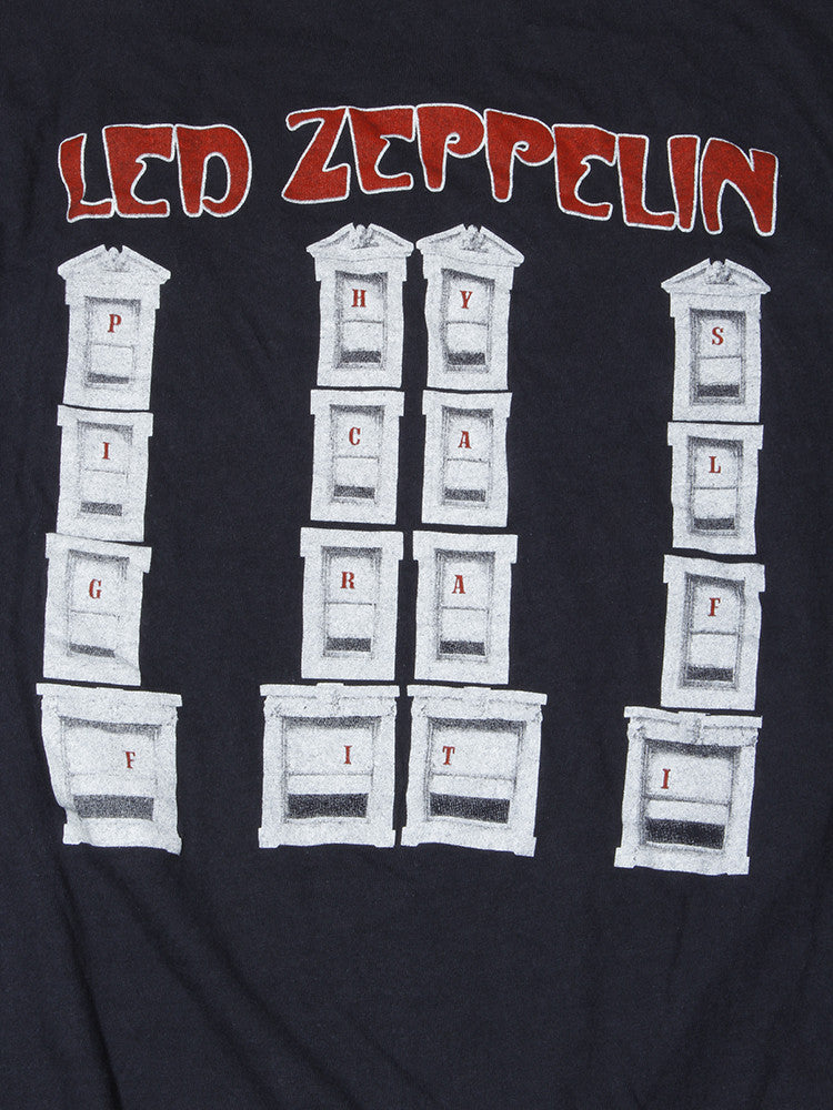 Led Zeppelin Physical Graffiti Vintage T-Shirt 1980's