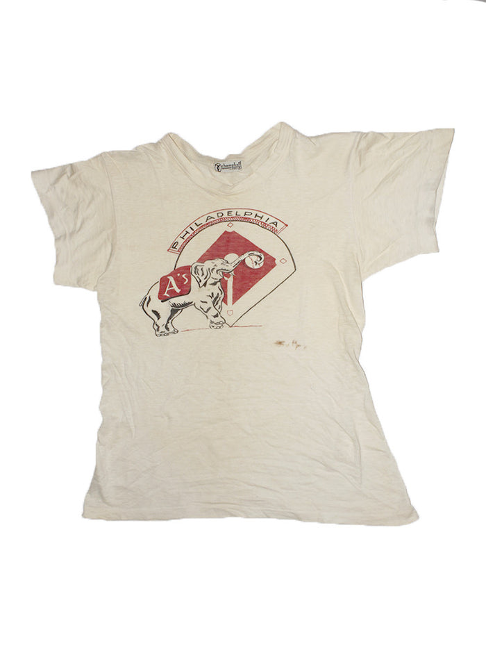 Vintage 50's Philadelphia Phillies Baseball T-shirt