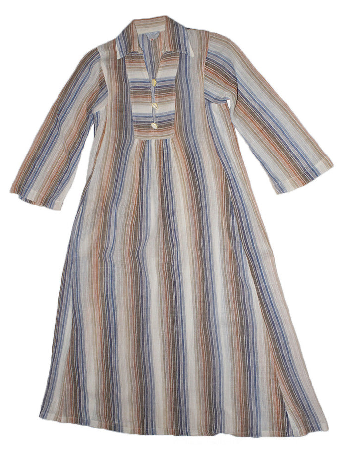 Vintage 60's India Cotton Gauze Dress