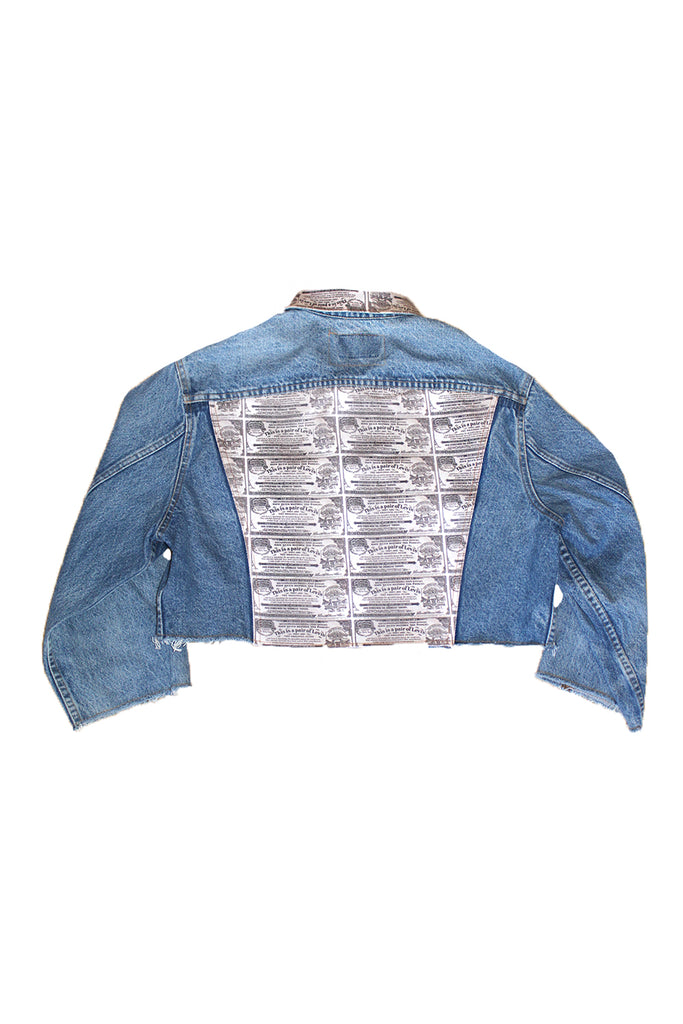ALC-054 Flasher Baggy Crop Jacket