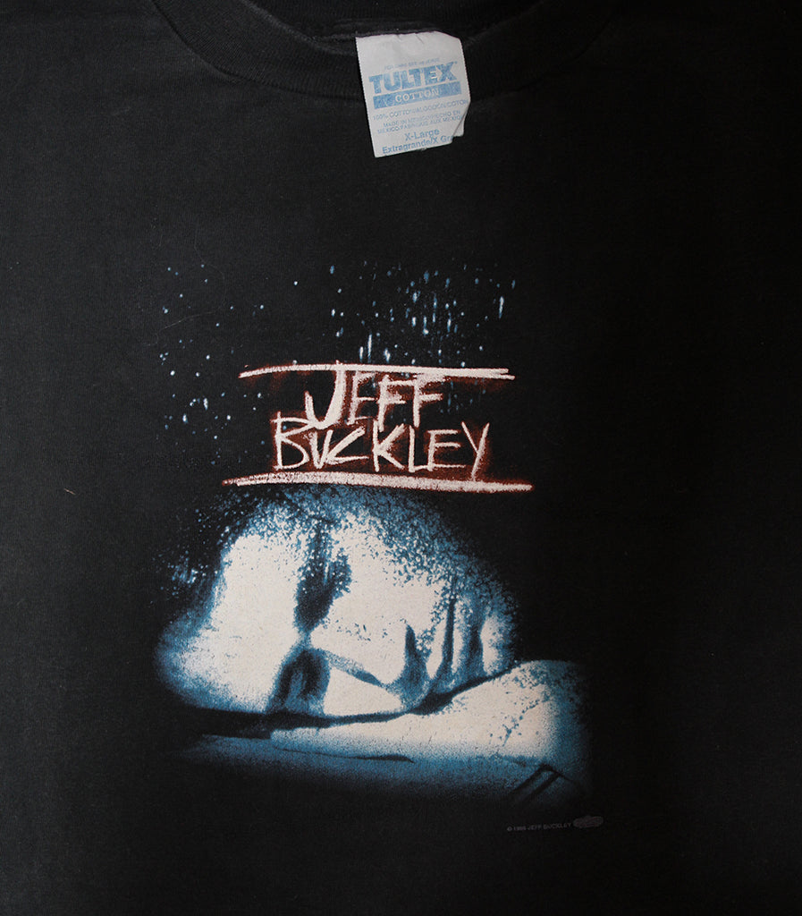 Vintage 90's Jeff Buckley Hard Luck Tour T-Shirt