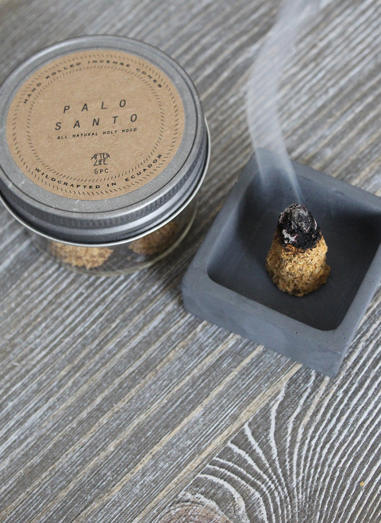 palo santo incense cones natural