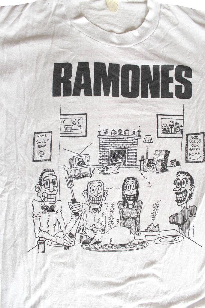 Vintage Late 70's Ramones We're A Happy Family